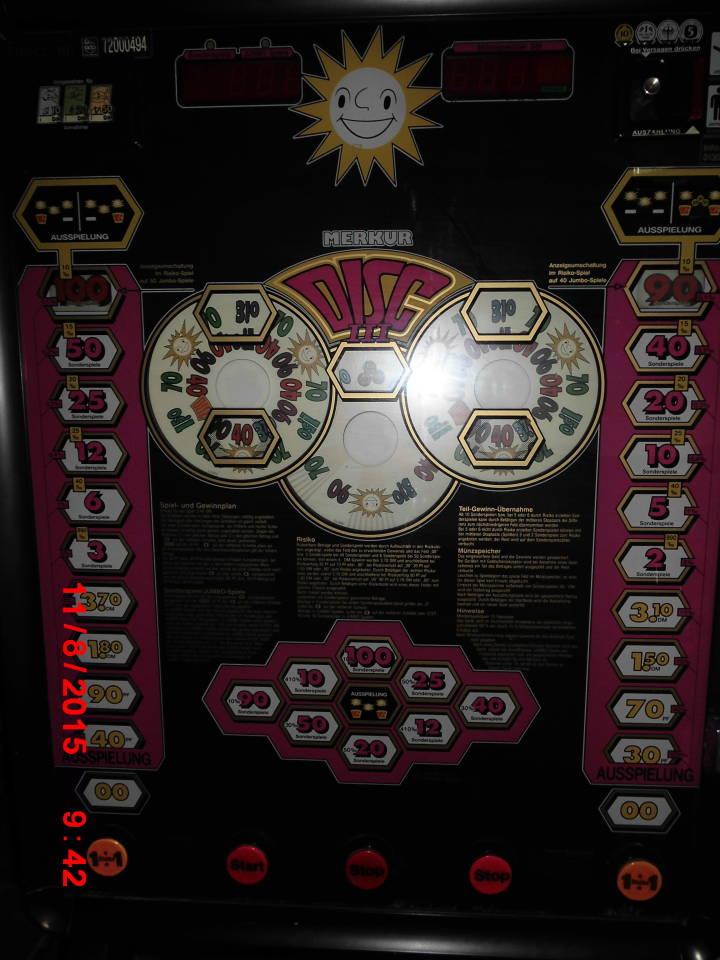 geldspielautomaten merkur disc