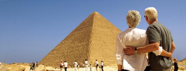Pyramiden in Kairo