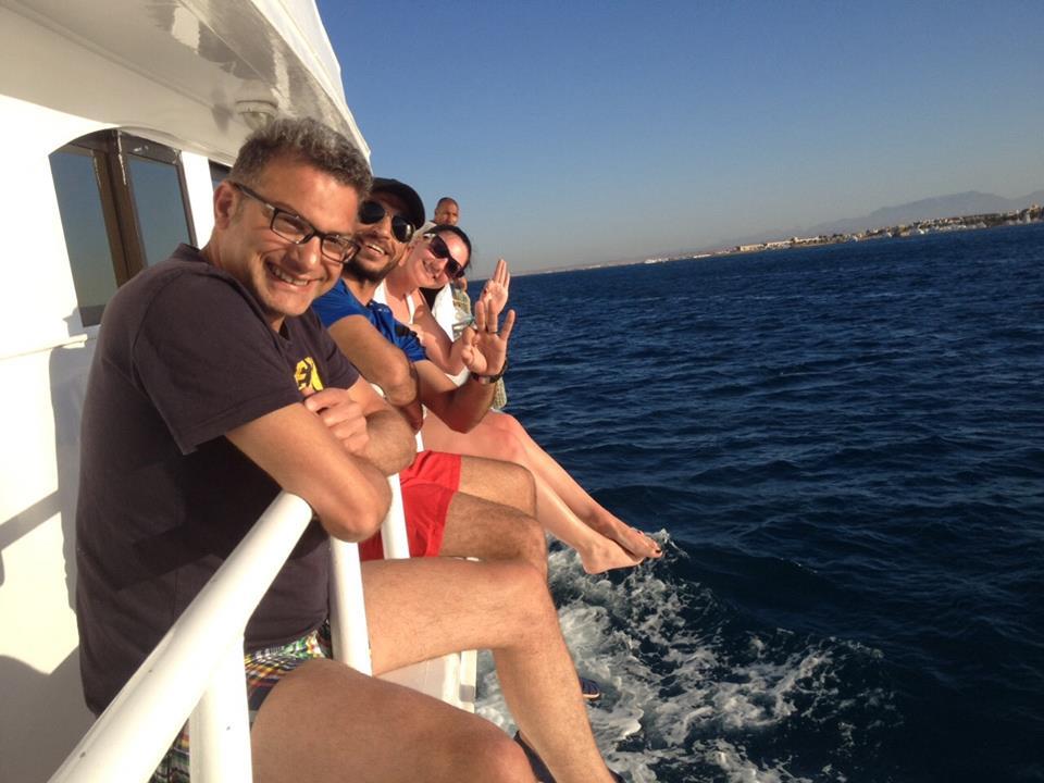 Angeln und Schnorcheln mit Privatboot in Hurghada