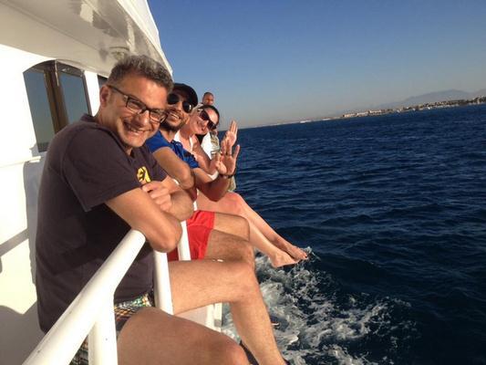 Schnorcheln und Angeln vom Privatboot