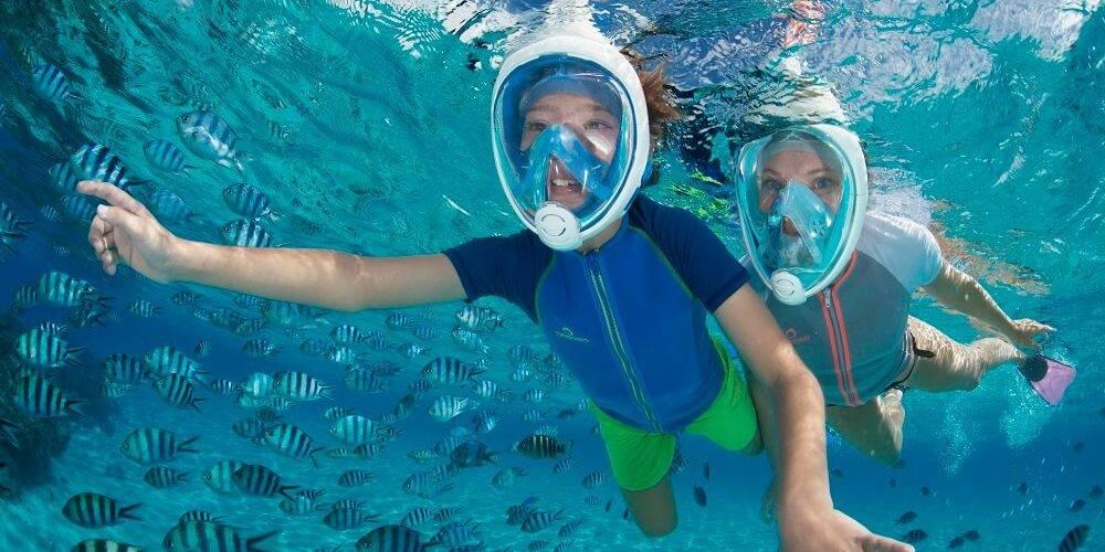 Schnorchelmaske Easy Breath Hurghada