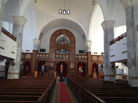 Christliche Kirche von innen