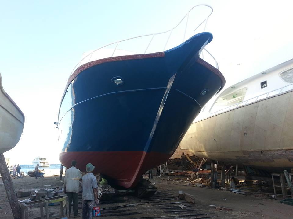 Hurghada Ausflüge - Wartungsplatz von Booten