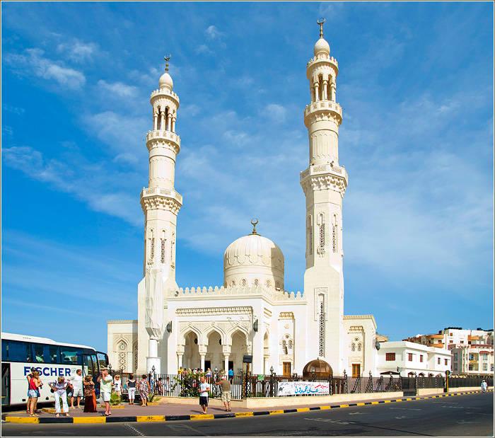 Moschee in Hurghada bei Besichtigung mit Ausflüge Hurghada