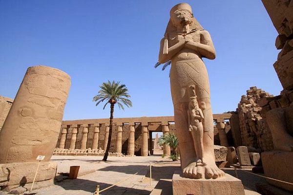 Karnaktempel Luxor - Bild von Hurghada Ausflüge