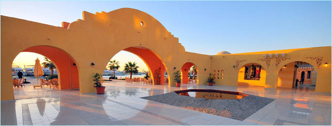 Marina am Tag - Stadtbesichtigung mit Ausflüge Hurghada