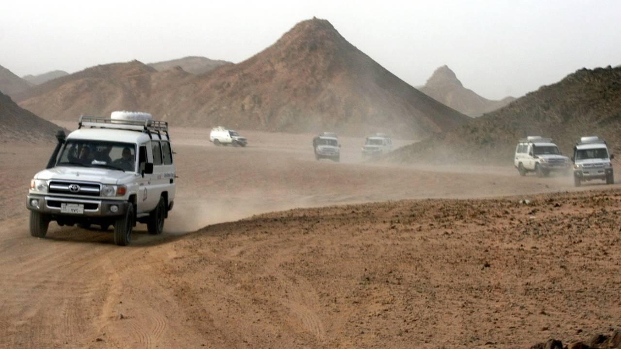 Jeepsafari in Hurghada