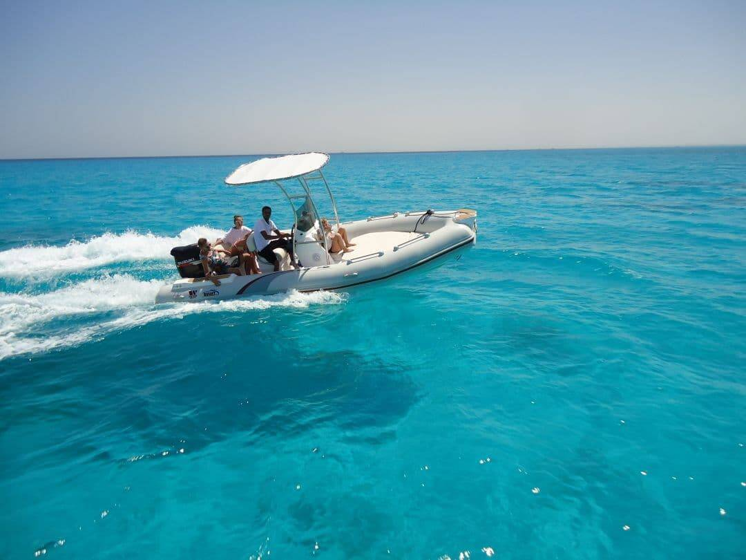 Speedboot in Hurghada