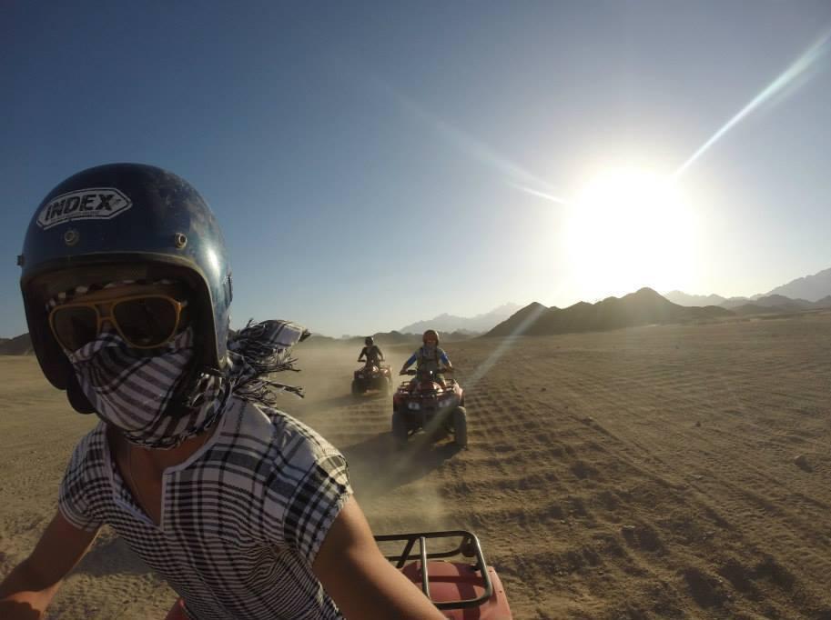 Quadsafarin in Hurghada