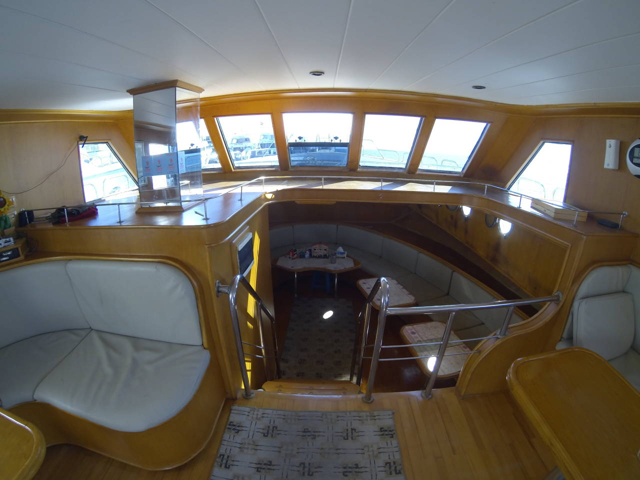 Salon im Privatboot