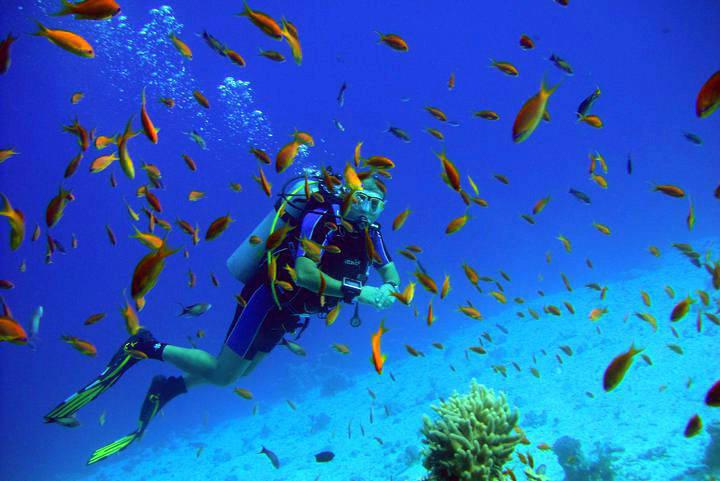 Spezialkurs Tiefentauchen in Hurghada