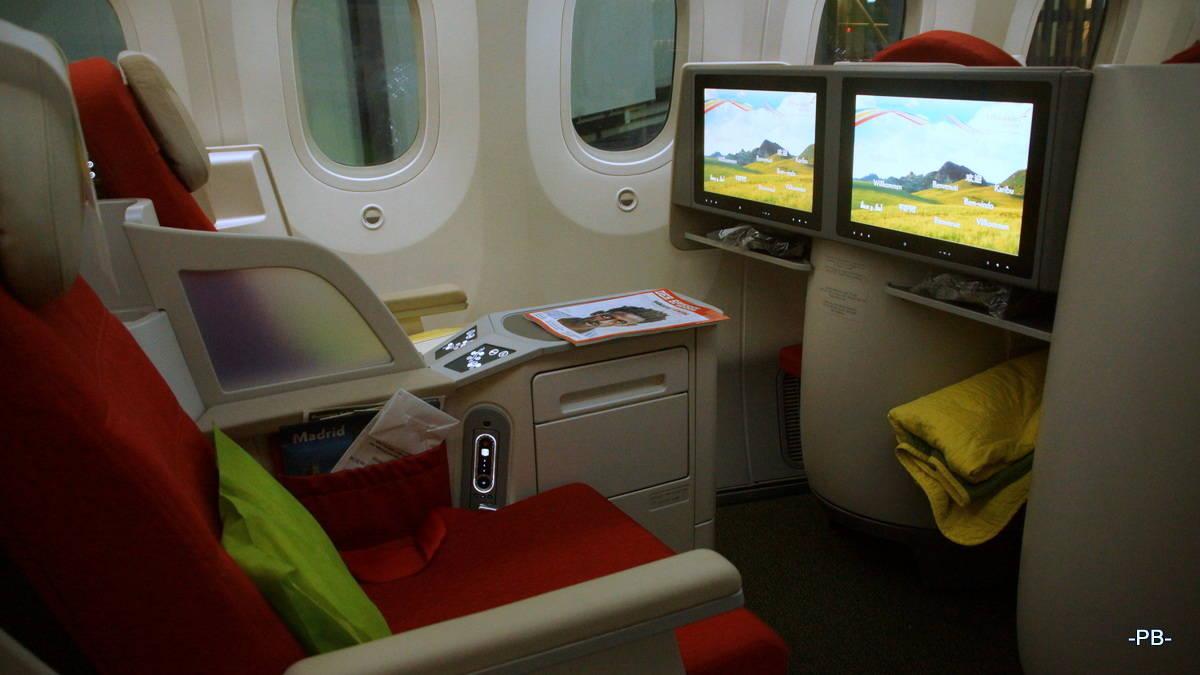 Business-Class der Ethiopian Air