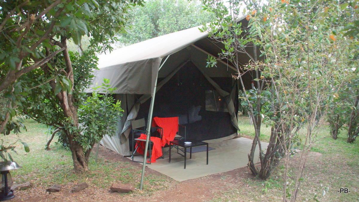 """Mein """"kleines"""" Zelt in der Masai Mara"""