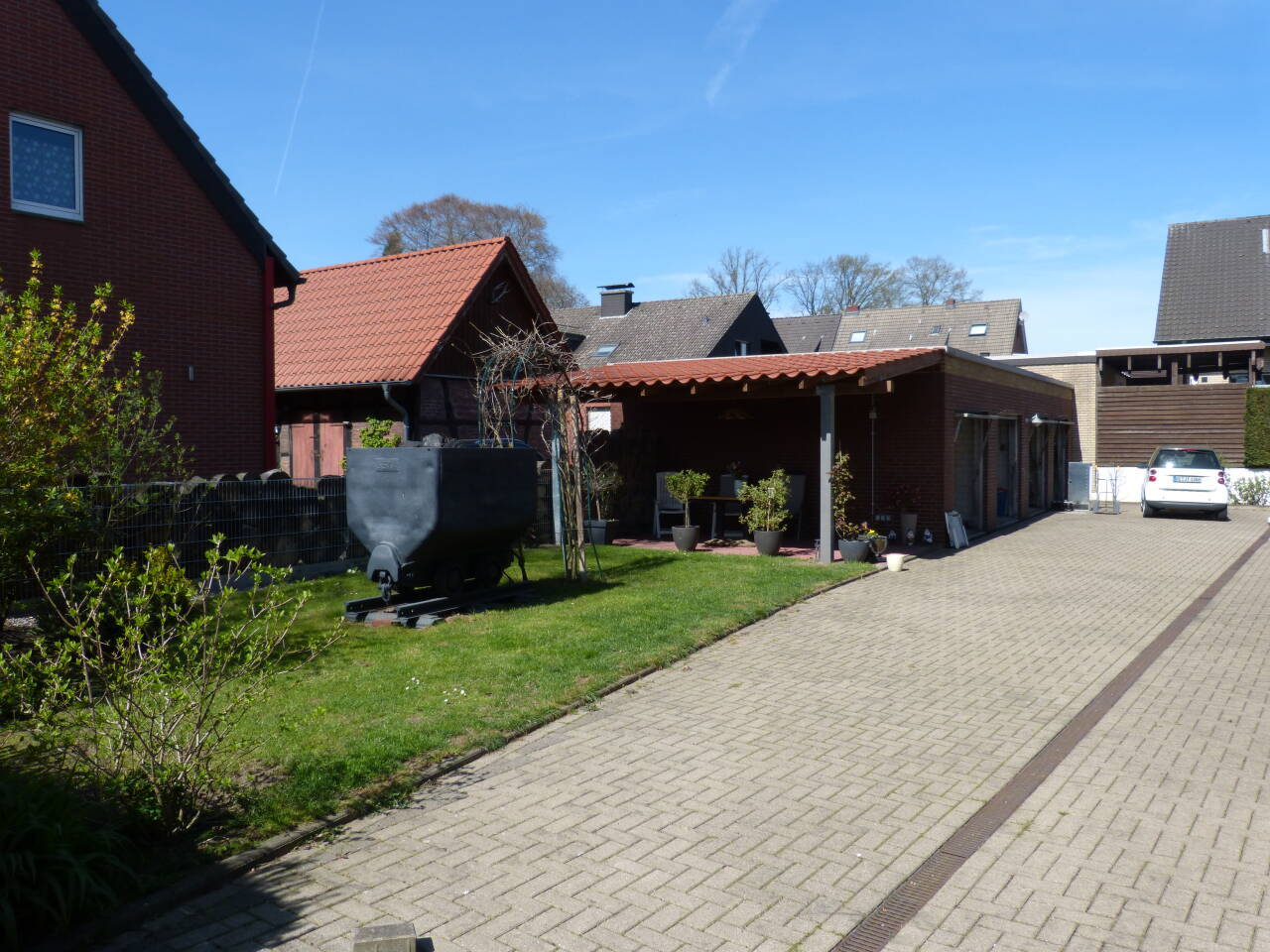 Auch die Außenanlagen stehen für unsere Gäste zur Verfügung.