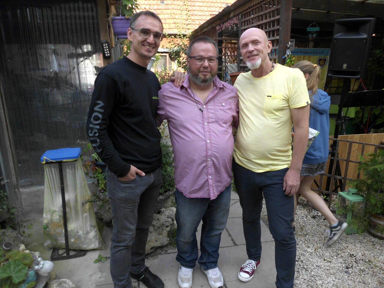 Roland Wegener, Peter Rotter und Marek Schuster