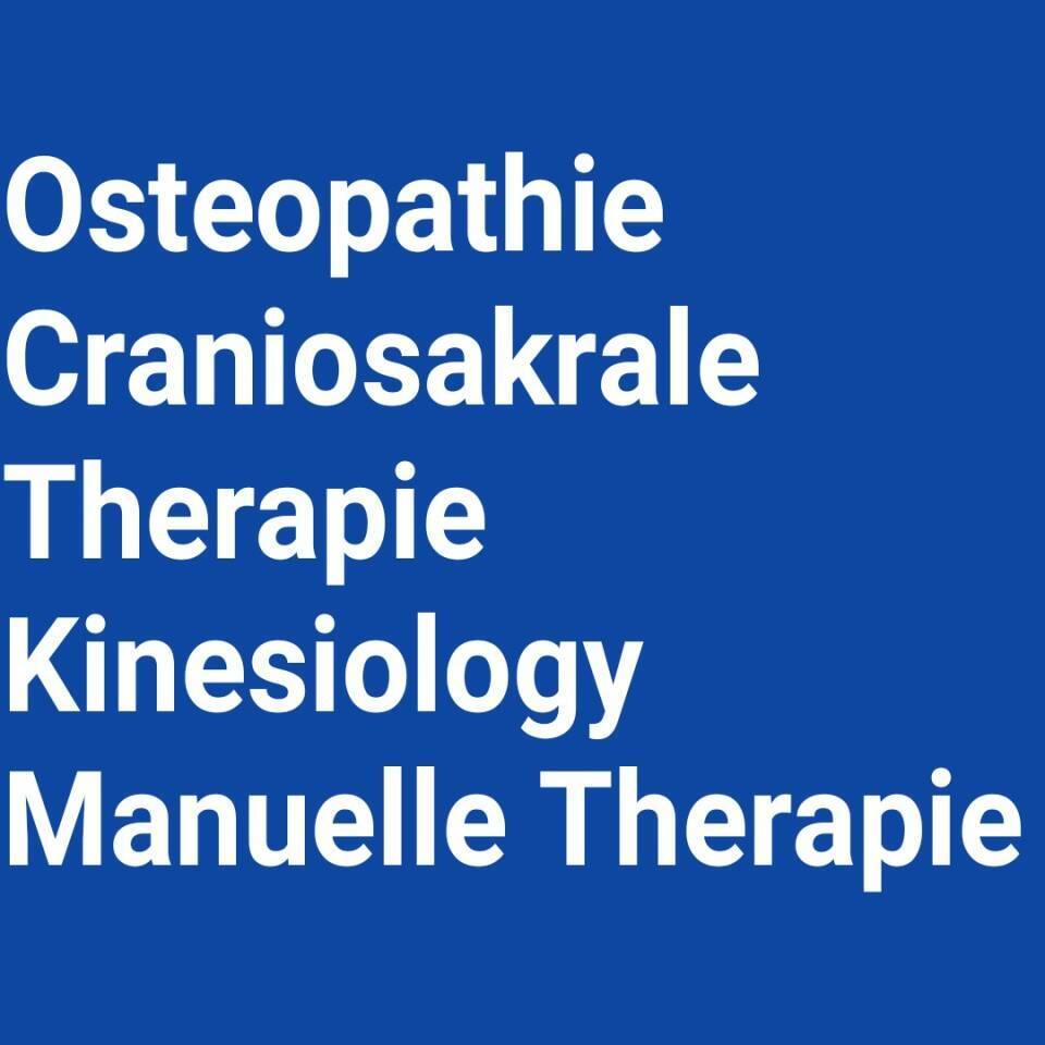 Therapiekonzepte: Osteopathie, craniosakrale Therapie, applied Kinesiology und manuelle Therapie
