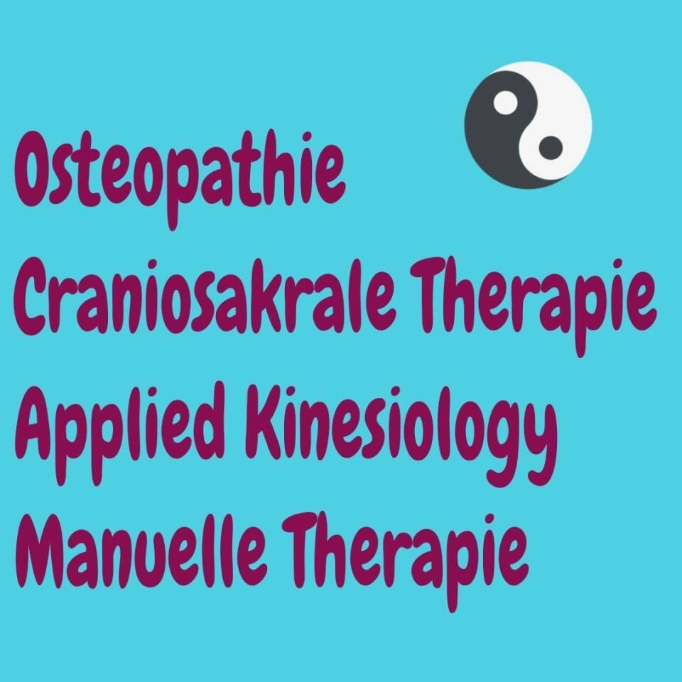 Alles über Osteopathie, craniosakrale Therapie, Kinesiologie und manuelle Therapie