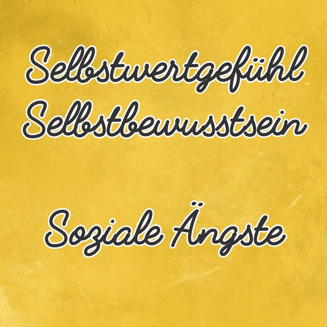 Selbstwertgefühl aufbauen, soziale Phobie abbauen durch Hypnose in Henstedt-Ulzburg