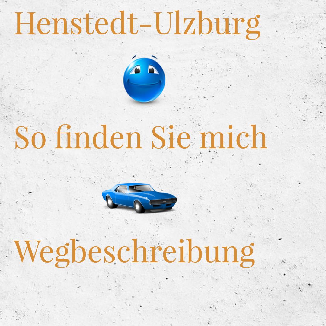 Hypnosepraxis in Henstedt-Ulzburg, Wegbeschreibung