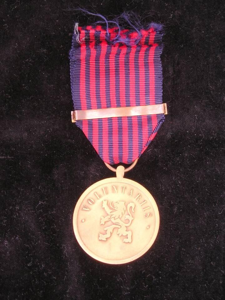 Luxembourg volonteer medal pugnator