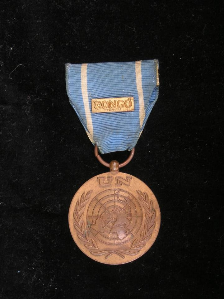 ONUC United nations medal congo