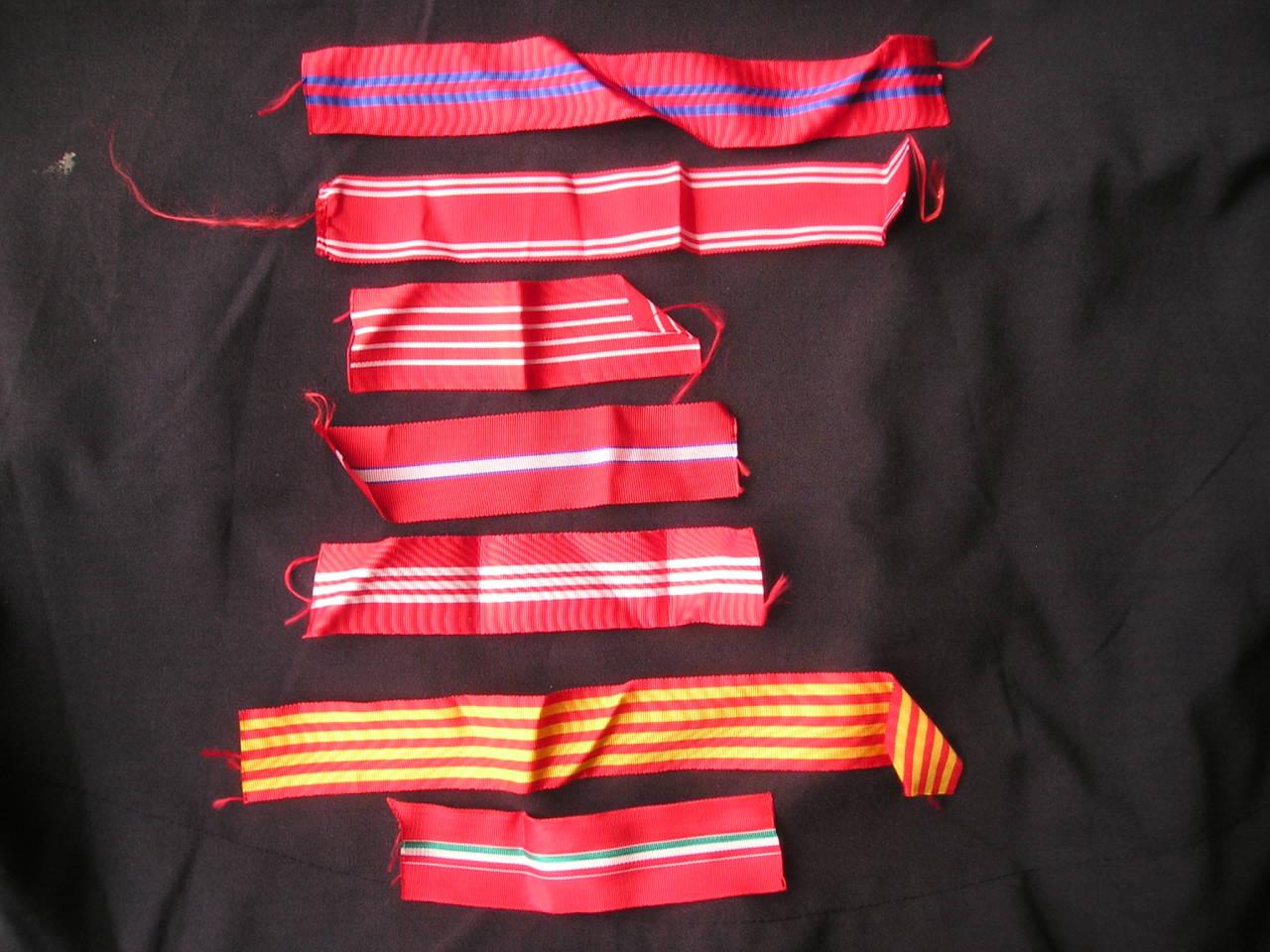 medal order ribbons