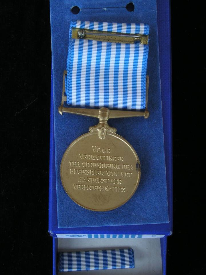 Korea medal medaille DUTCH