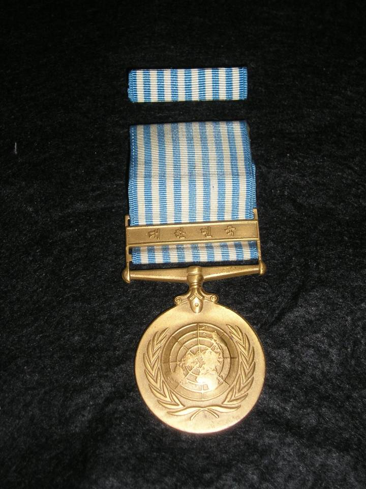 United Nations Korea war medal