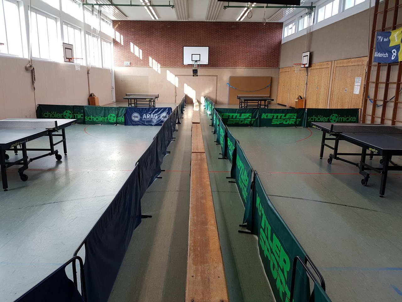 Tischtennis TTV Werl Büderich