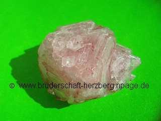 """Alunit - Alaun - Kalialaun (""""Neolith-Kristall""""); Foto der Bruderschaft Herzberg"""