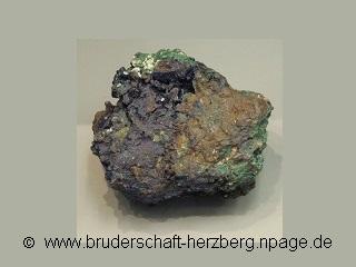 Azurit-Malachit - Foto von der Bruderschaft Herzberg