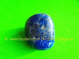 Lapis-Lazuli / Lazur-Feldspat - Foto der Bruderschaft Herzberg