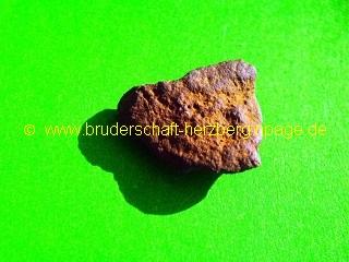 Gesteinsmeteorit - Foto der Bruderschaft Herzberg