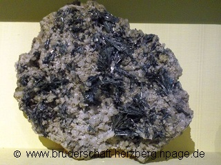 Antimonit - ein Foto der Bruderschaft Herzberg