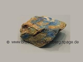 Azurit-Gold - Foto von der Bruderschaft Herzberg