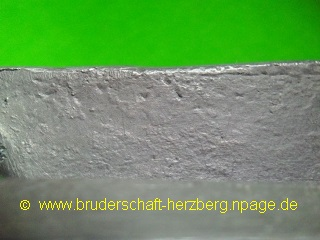 Blei - Foto der Bruderschaft Herzberg