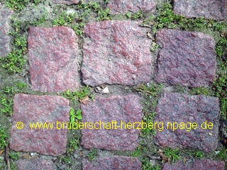 Granit - rot - Foto der Bruderschaft Herzberg
