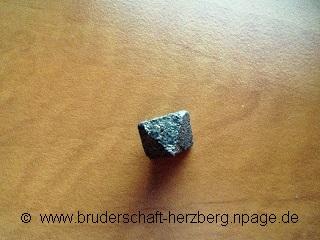 Magnetit - Foto von der Bruderschaft Herzberg