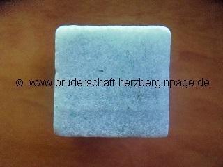 weißer Marmor - Foto der Bruderschaft Herzberg