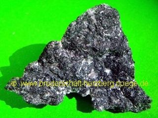 schwarzer Marmor - Foto der Bruderschaft Herzberg
