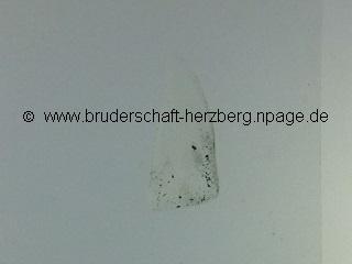 Mondgestein - Mondprobe Luna 16 - Foto von der Bruderschaft Herzberg
