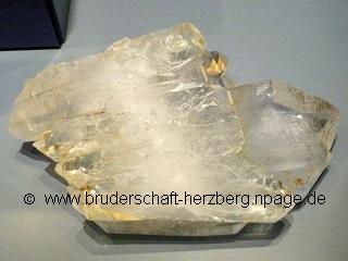 Quarz-Silicium - Foto von der Bruderschaft Herzberg