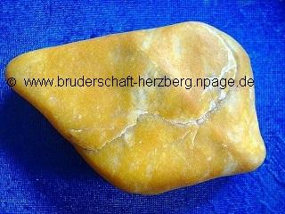 Quarzkies - gelb - Foto der Bruderschaft Herzberg