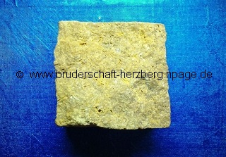 Sandstein - Foto der Bruderschaft Herzberg
