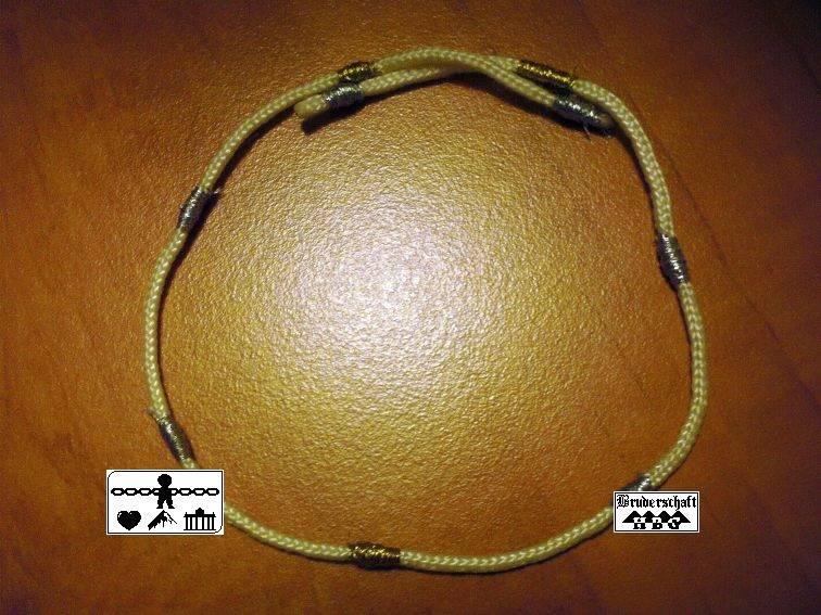 Ritualschnur, Foto der Bruderschaft Herzberg