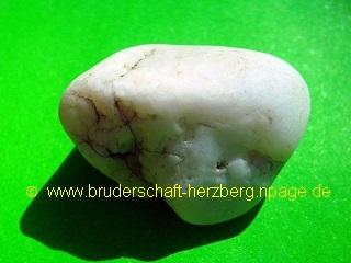 Quarzkies - weiss - Foto der Bruderschaft Herzberg