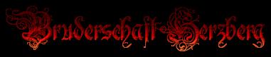 Schriftzug Bruderschaft Herzberg