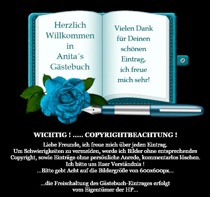 Gästebuch Banner - verlinkt mit http://anita1412.npage.de