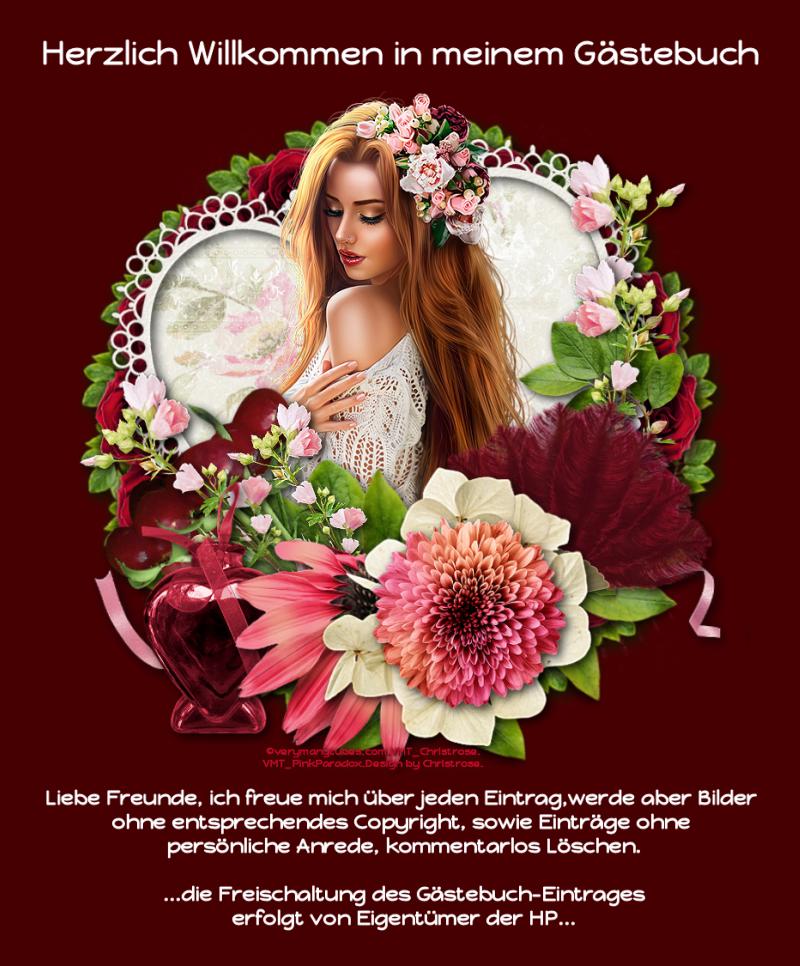Gästebuch Banner - verlinkt mit http://christrose.hpage.de/