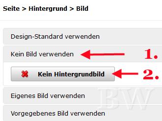 hPage, nPage, HP, Homepage, Design-Editor, Hintergrund austauschen, eigenen Hintergrund verwenden / einfügen